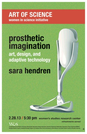 prosthetic imagination: brandeis lecture 2/28