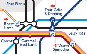 taste map: synaethesia and the tube